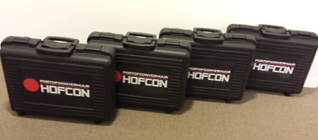 Verhuur portofoons netjes geleverd in krat of koffer
