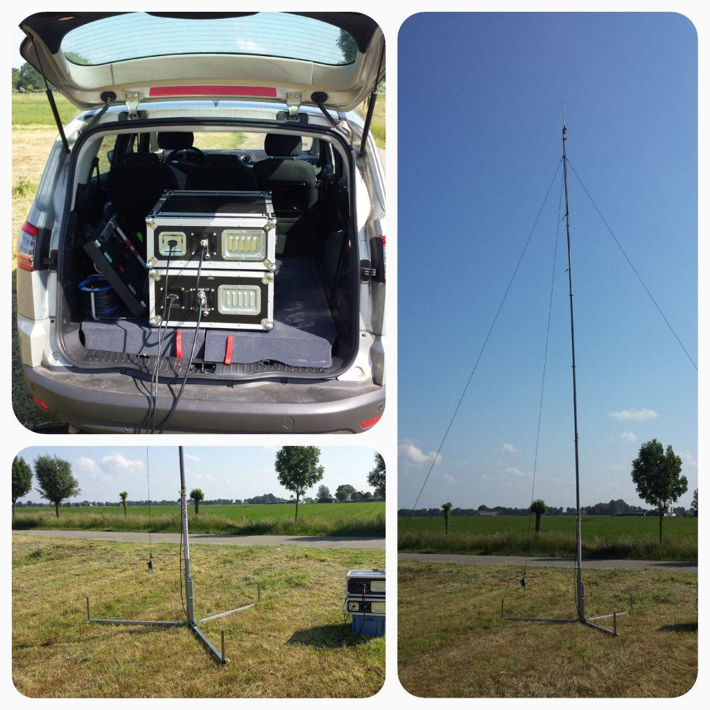 Mobiel communicatie systeem HOFCON