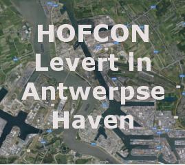 HOFCON levert portofoons in Antwerpse haven