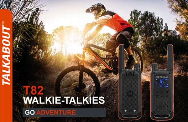 Motorola T82 licentievrije portofoons walkie talkie