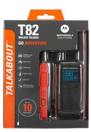 Motorola T82 walkie talkie HOFCON portofoons