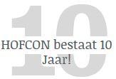 HOFCON bestaat 10 jaar!