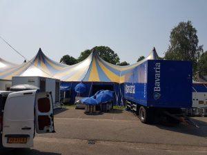 Portofoons huren evenement festival HOFCON