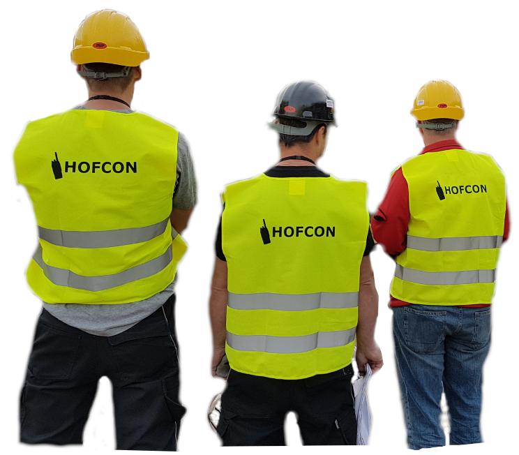 HOFCON-portofoonnetwerk-installatie-team
