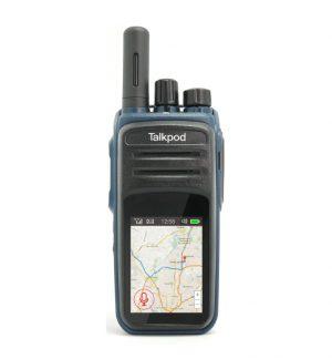 Talkpod N58 portofoon met landelijke bereik via 4G